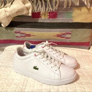 Lacoste Girls US Size 2 Sneakers - Damaged!